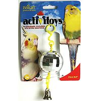 Disco Ball Bird Toy