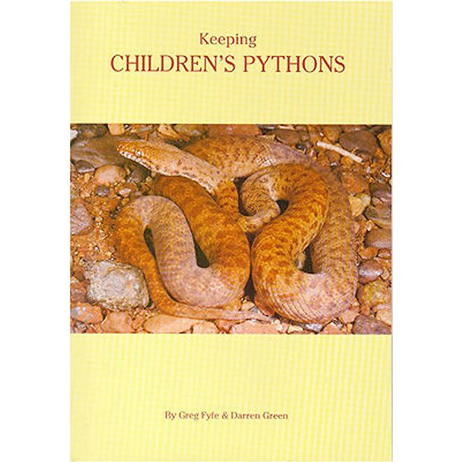 Keeping Children 39 S Pythons Reptile Books Ozpetshop