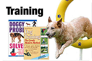 Books on dog obedience and training