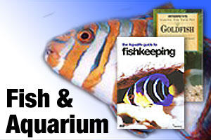Books on fish care and aquariums
