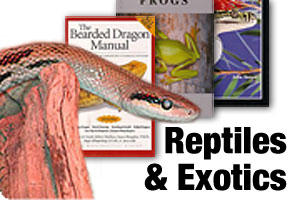 Books on reptiles, lizards and snakes