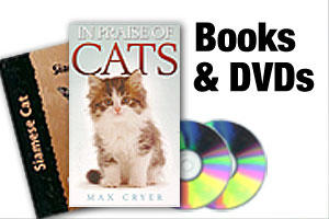 Cat books and DVDs