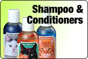 Shampoo and conditioners for cats and kittens