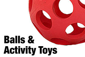 dog balls, fetch toys and activity toys