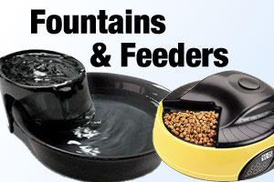 Pet Fountains & Feeders