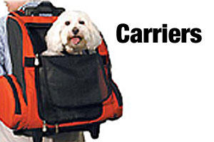 Carriers for dogs and puppies