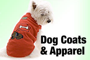 Dog coats, pyjamas and apparel