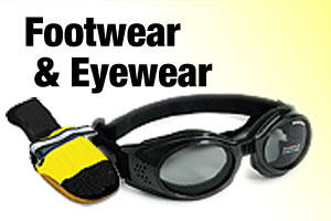 Footwear and Eyewear for dogs