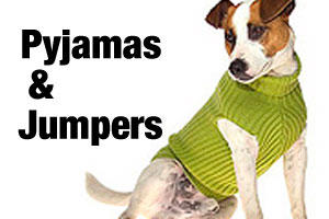 Pyjamas, jumpers and skivvies for dogs and puppies
