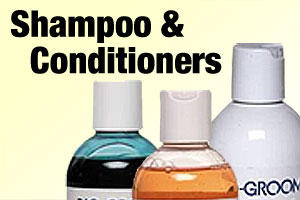 Shampoo and conditioners for dogs and puppies