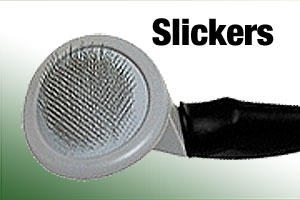 Slicker brushes for dogs and puppies