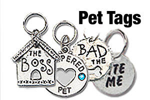Pet id tags and dog id tags