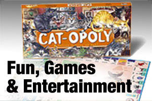 Family fun, games and entertainment for pet lovers