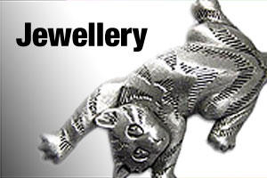 Jewellery, earrings and pendants for pet lovers