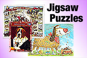 Jigsaw puzzles for pet lovers