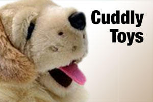 Cuddly toys, teddy bears and plush toys