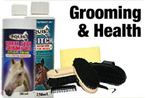 health and grooming products for horses and ponies