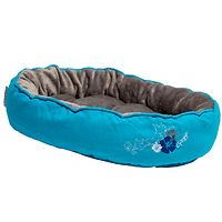 Rogz Snug Pod Cat Bed - Blue Floral