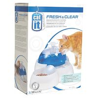 Catit Cat 3L Drinking Fountain with Feeding Bowl
