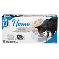 Catit Twin Glass Diner for Cats