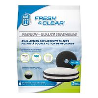 Catit Foam Carbon Replacement Filters for Fresh & Clear 2Lt & 3L