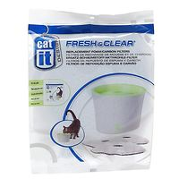 Catit Foam Carbon Replacement Filters for Fresh & Clear 3L