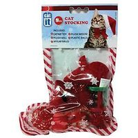 Catit 8 Piece Christmas Stocking for Cats