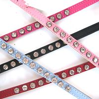 Dogue Leather Puppy Glamour Collars