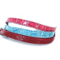 Dogue Faux Croc Leather Cat Collars