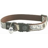 Rogz Cool Cat Collar - Brown