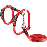 Rogz Kiddy Cat Harness & Lead Set
