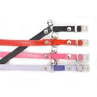 Dogue Plain Jane Leather Cat Collars