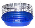 Oval Shaped Wire Cat Carry Cage