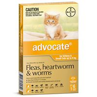Advocate - Kittens & Small Cats to 4kg - Orange 6pk