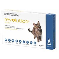 Revolution for Cats - Blue 3pk