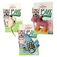 Bliss Cat Toys 3 Pack - Hippo Crocodile Mouse