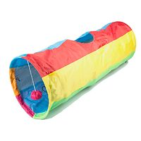 Crinkle Cat Tunnel Rainbow 90cm