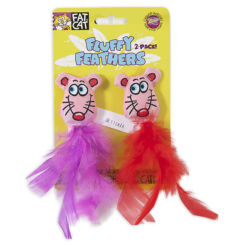 Making Cat Toys With Feathers
