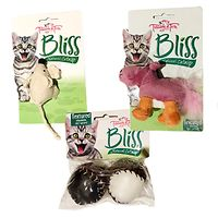 Bliss Cat Toys 3 Pack - Hippo Balls Mouse