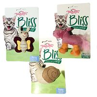 Bliss Cat Toys 3 Pack - Hippo Snail Butterfly