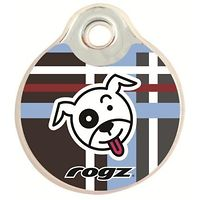 Rogz Metal Pet ID Tagz Engraved (Scratchie)