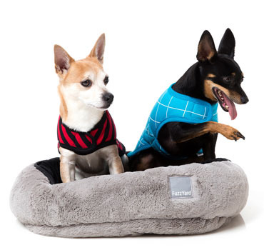 Fuzz Yard Licorice Reversible Pet Bed Dog And Cat Beds And Bedding Ozpetshop