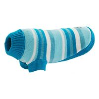 Huskimo Dog Jumper Blue Striped