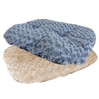Oval Pet Cushion Mat Grey