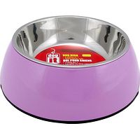 Dogit 2 in 1 Durable Dog Bowl Pink