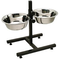 Adjustable Double Dog Diner