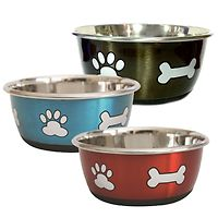 Durapet Fashion Stainless Steel Water Bowl