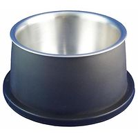 Delisio Stainless Steel Deep Dog Bowl