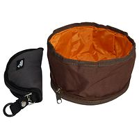 Deluxe Foldable Dog Travel Bowl