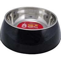 Dogit 2 in 1 Durable Dog Bowl Black